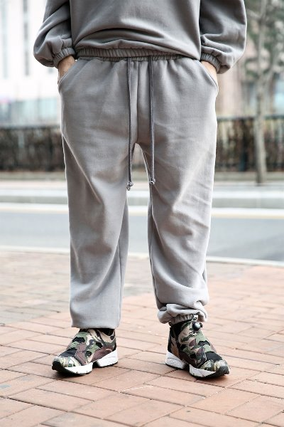 Wool Basic Jogger Pants