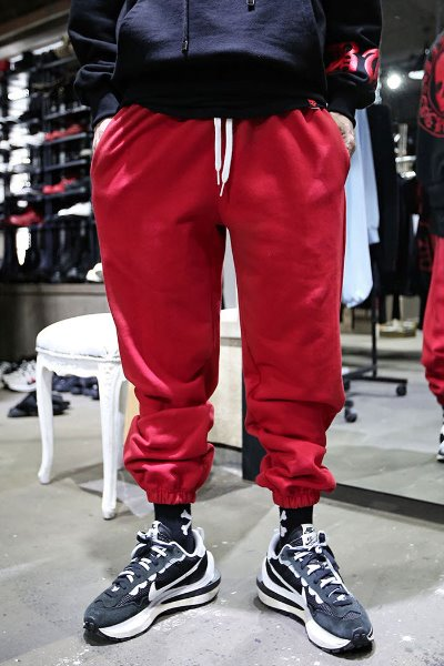 Loose Fit 3-tier Banding Jogger Pants