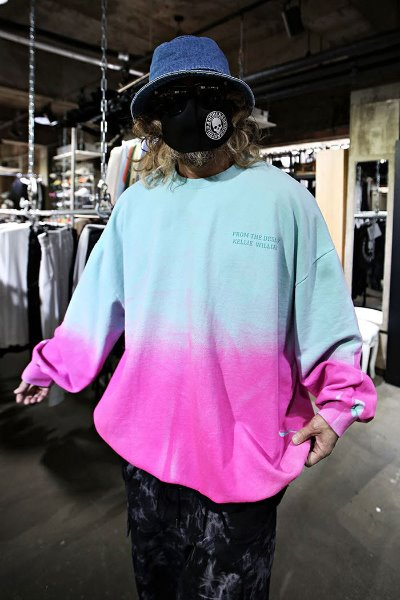 Pastel Two Tone Loose Fit Sweatshirt