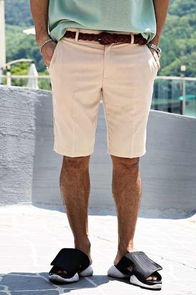 Regular Fit Part 5 Slacks Shorts